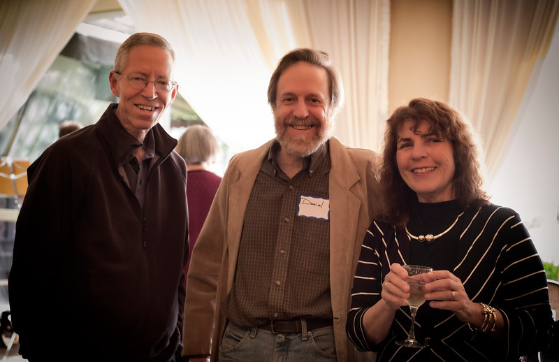Chuck Currier, Daniel Kinzek and Ann Shields