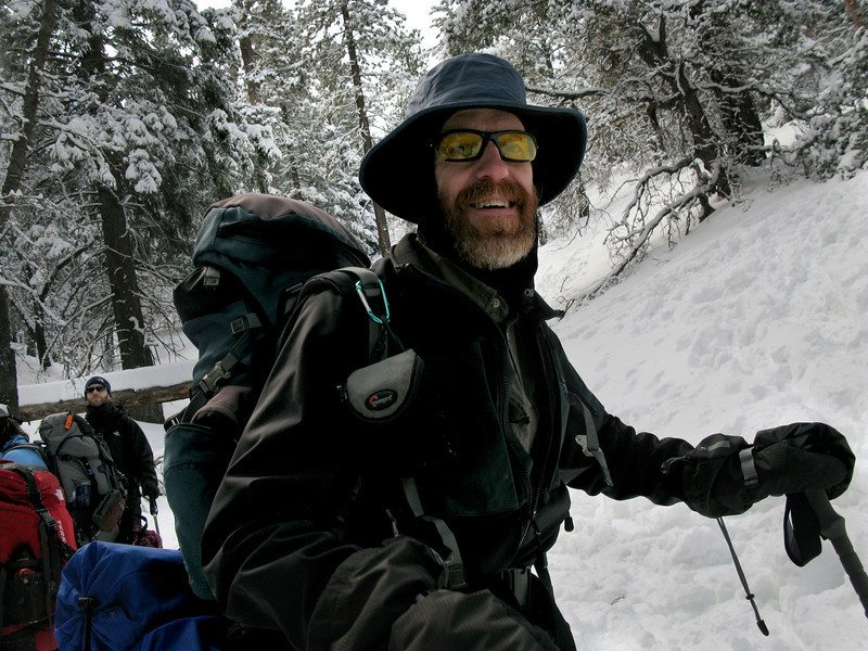 John Muir with yellow glasses circa 2011