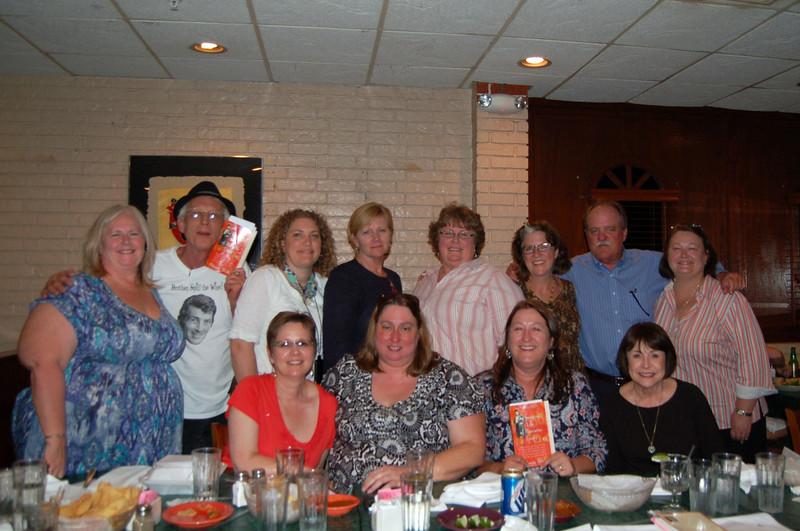 L-R sitting Brenda, Suz, Denise, Cheryl<br /> L-R standing Carla, Patrick, Diana, Gaye, Barbara, Jan, Ed, Lisa Rhodes