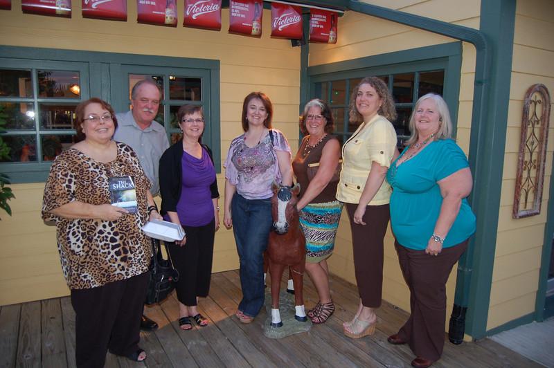 Kathy Knight, Ed Gripp, Brenda Willey, Lauren Rose (her book), Jan Hughes, Diana Davila, Carla Kennedy