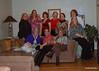 Lisa Rhodes, Suz, Lauren, Gaye, Kathy, Barbara<br /> Jan, special guest Riley, Diana, Denise  and Me