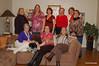 Lisa Rhodes, Suz, Lauren, Gaye, Kathy, Barbara<br /> Jan, special guest Riley, Diana, Denise