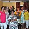 Brenda   Jan  Diana   Jennifer n Harlow,  Gaye   Cheryl    Kathy front and center