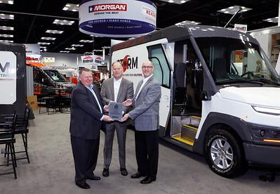 Morgan Olson receives Innovation Award