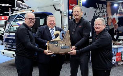 Isuzu recognizes 20 years of The Work Truck Show