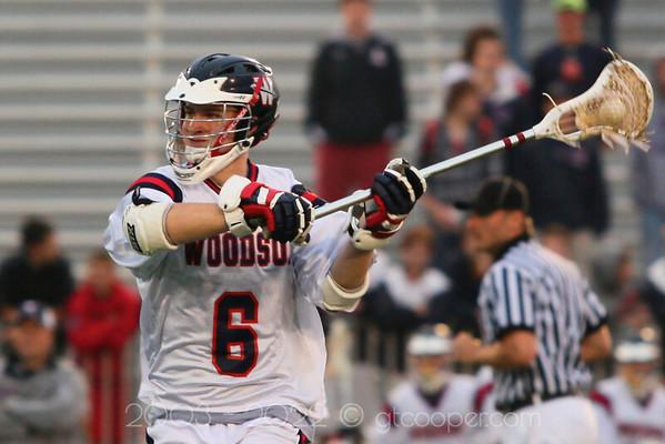 WT Woodson High School Varsity Lacrosse vs Annandale High School Patriot District Playoffs