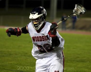 WT Woodson High School Varsity Lacrosse vs Robinson High School