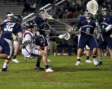 WT Woodson Varsity Lacrosse vs South County High School