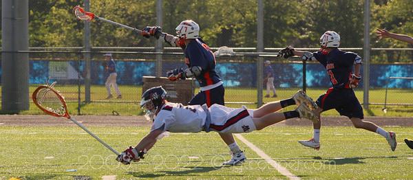 """Extra Effort"" WT Woodson High School  Varsity Lacrosse Semi-final game against West Springfield"