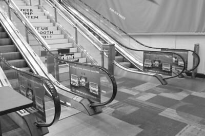 Onsite branding: Escalator sides