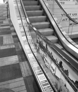 Onsite branding: Escalator runners
