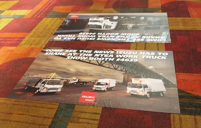 Onsite branding: Convention Center floor graphic, 3' x 5'