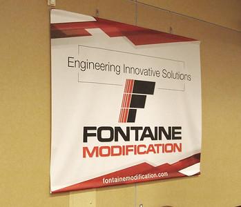 Onsite branding: Hoosier Lobby banners - 10' x 8'