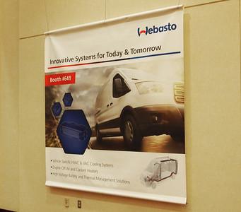 Onsite branding: Wabash Lobby banners - 8' x 8'