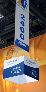 Onsite branding: Overhead aisle signage