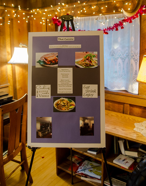 WVCW Dinners for Auction poster 2
