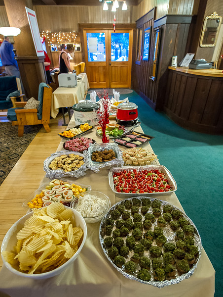 WVCW Snack table