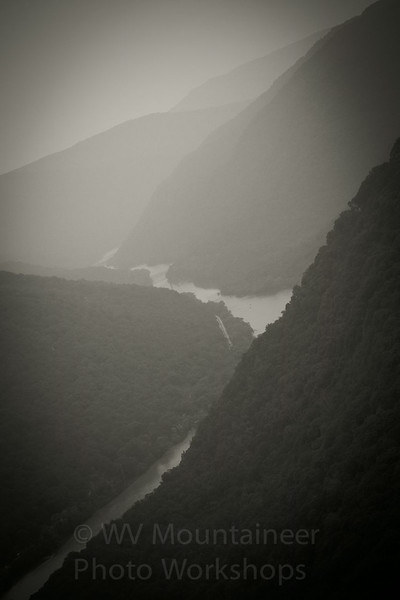 New River Gorge - Grandview State Park West Virginia