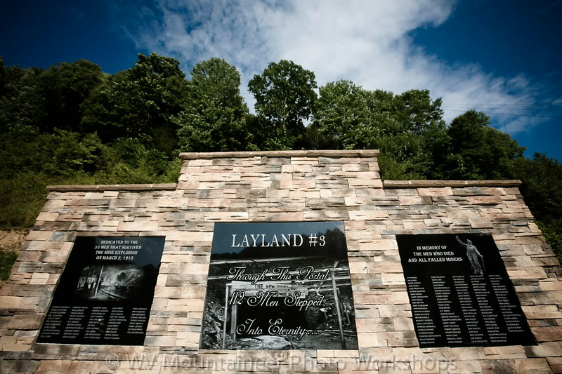 Layland Mine Explosion Memorial - Layland West Virginia