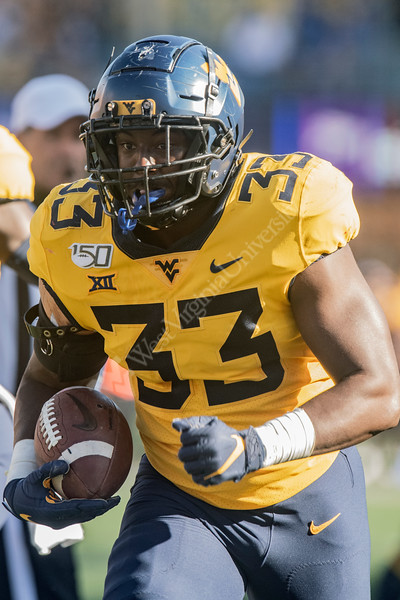 The Mountaineer Football Teams hosts Texas at Mountaineer Field October 7th, 2019  (WVU Photo/Brian Persinger)