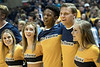 WVU Men's basketball action beating the Baylor Bears 57-54, January 9, 2018. Photo Greg Ellis