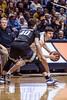 The WVU Men's Basketball Team hosts Kansas State at the Coliseum February 3rd, 2018.  Photo Brian Persinger