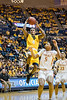 WVU Mountaineers  basketball team action defeating the Texas Longhorns 86 - 51, January 20, 2018. Photo Greg Ellis