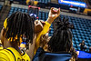 The Womens Basketball team host NJIT at the Coliseum November 11th, 2018.  Photo Brian Persinger