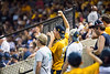Fans cheer during WVU's second game of the NCAA Regional on June 1, 2019 at Monongalia County Ballpark. Photo Parker Sheppard