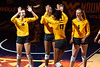 The Women's Volleyball team challenged Texas at the Coliseum on October 18, 2019.
