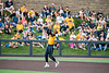 Tevin Tucker making a catch during WVU's second game of the NCAA Regional on June 1, 2019 at Monongalia County Ballpark. Photo Parker Sheppard
