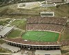 WVU vs Pitt 1981  aerial photo Mountaineer Stadium