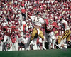 Football WVU vs Oklahoma - Jeff Hostetler quarterback 1982