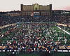 Football WVU vs Penn State 1988 post game <br /> end of game time still on scoreboard