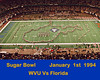 SUGAR BOWL 1994 WVU vs Florida
