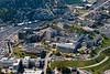 aerials of WVVU campus