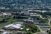 Aerials of evansdale campus