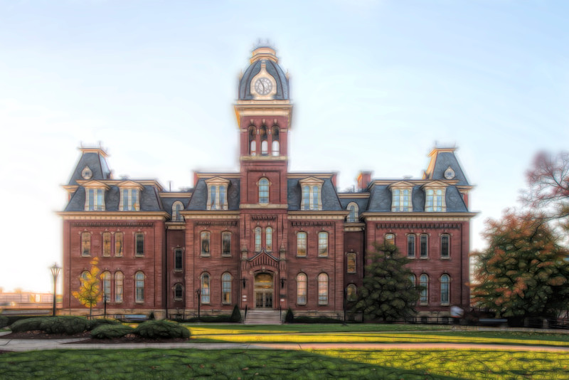 """Woodburn Hall Paintography................to purchase - <a href=""""http://bit.ly/1BEFZC6"""">http://bit.ly/1BEFZC6</a>"""
