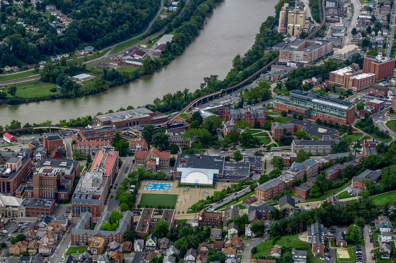 Downtown campus West Virginia Universty