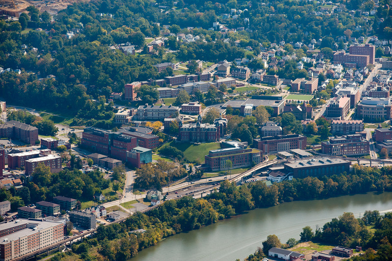 """aerials of WVVU campus downtown campus along river ...........................................to urchase - <a href=""""http://dan-friend.artistwebsites.com/featured/6-aerials-of-wvvu-campus-dan-friend.html"""">http://dan-friend.artistwebsites.com/featured/6-aerials-of-wvvu-campus-dan-friend.html</a>"""