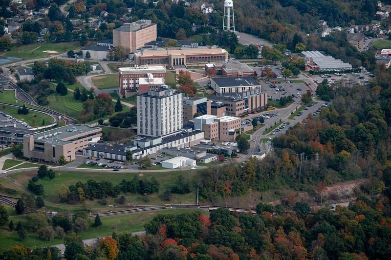 Aerial of Engineering buildings