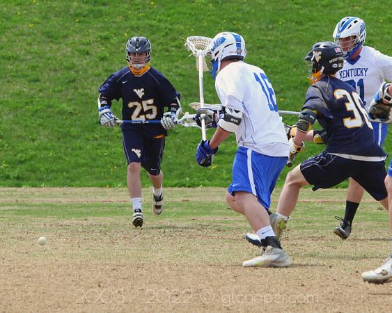 West Virginia University Club Lacrosse vs University of Kentucky at Virginia Tech