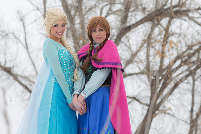 WW Winter Shoot Elsa/Anna Promo