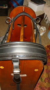 rolled padded breastplate