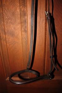 English leather raised noseband $15