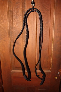 English leather laced reins NEW $25