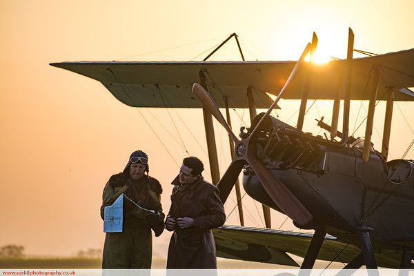 WW1 Sunrise Photoshoot 2018