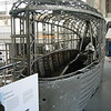 Gondola from 1916 Zeppelin L30 - Royal Military Museum, Brussels