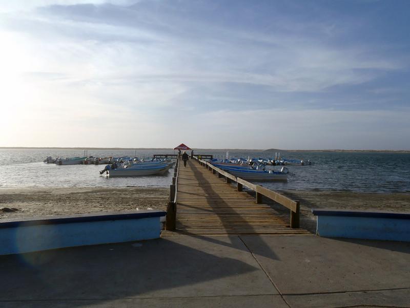 Adolfo Lopez Mateos, March 2: Local pier.