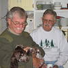 Defalco and Croll with Al's New Puppy